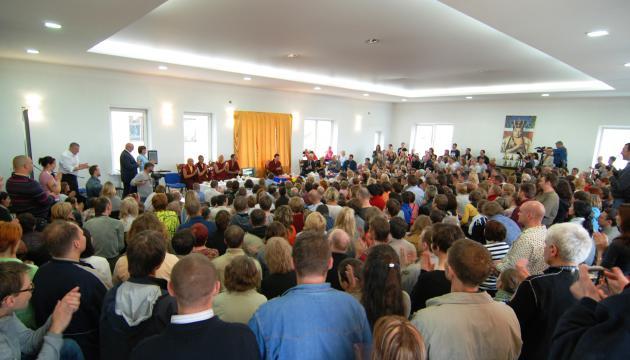 Визит его Святейшества Тринле Тхае Дордже, Семнадцатого Кармапы в Иркутск